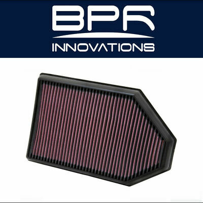 K/&N Drop In Replacement Panel Air Filter 2010-2018 Dodge Charger 3.6L 5.7L 6.4L