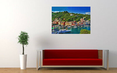 Portofino Italy New Giant Large Art Print Poster Picture Wall