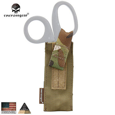 Emerson Tactical Molle Scissors Pouch Shear Holder Hunting Gear MC AOR1 EM6367