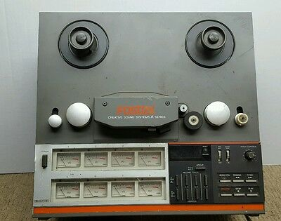 Vintage FOSTEX A-8 Reel-To-Reel Tape Recorder for Parts or Repair
