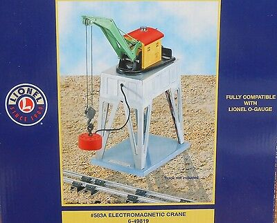 Lionel American Flyer ELECTROMAGNETIC CRANE . .#583A Re-Issue . . NOS . . MIB