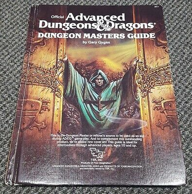 1st Edition Advanced Dungeons and Dragons Dungeon Masters Guide AD&D TSR