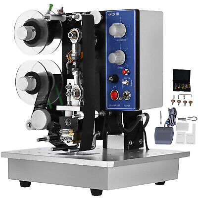 Ribbon Coding Machine 10~100Times/min Hot Stamp Different Seal Material 200W