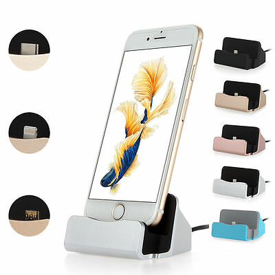 Sync Data USB Cable Cradle Charging Charger Dock Station Stand For iPhone XR XS