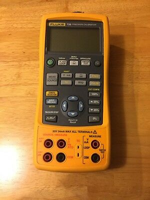Fluke 726 Precision Multifunction Process Calibrator Meter