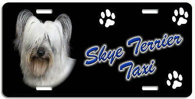 Skye Terrier Taxi Line License Plate (( LOW CLEARANCE PRICE ))