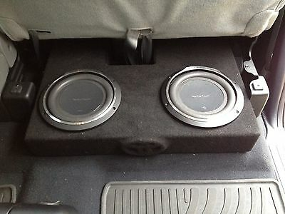 07 to 16 TOYOTA TUNDRA DC SUB WOOFER BOX ENCLOSURE  2 10 NOT LOADED BOX ONLY