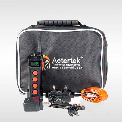 Aetertek 919C Dog Training Shock Collar Sound Remote 1100 Yards Desired Behavior