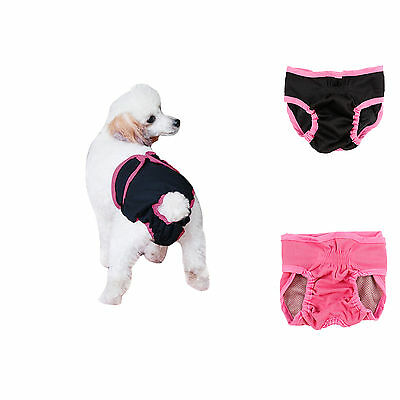 Adjustable Dog Sanitary Period Pants Season Female Bitch Hygiene Nappies