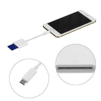 Micro USB to SD Card Camera Reader for Android Phone Tablet Smartphone with OTG