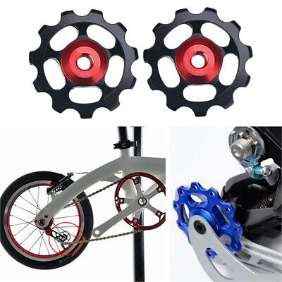 1PC 11T MTB/Road Bicycle Aluminium Jockey Wheel Rear Derailleur Pulley 5 Colors