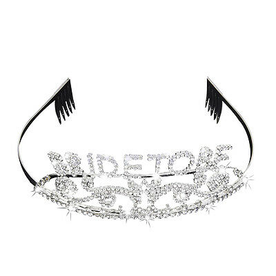 Bachelorette Party Crown Sparkle Headband Bride to Be Bridal Shower Supply