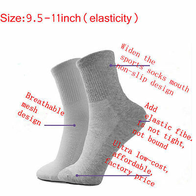 5 Pairs Men's Socks Winter Thermal Casual Soft Cotton Sport Sock Gift
