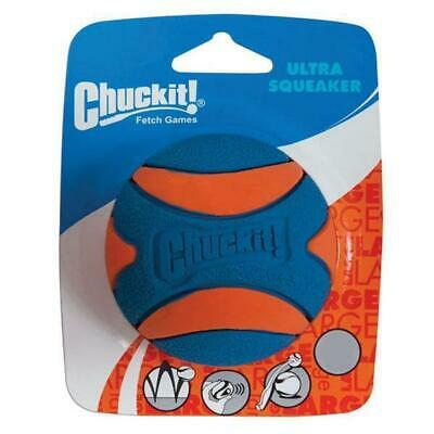 Chuckit! Ball Ultra Squeaker Hundeball Apportierball Hundespielzeug