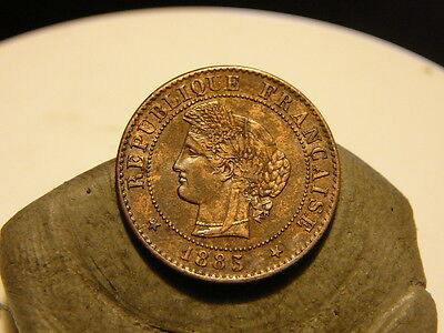 1Cl(131) - 1 Centime - Ceres - 1885 A - Rare & Qualite Ttb+ !