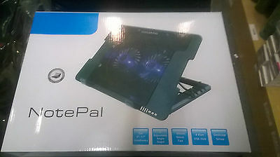 NotePal USB Laptop Cooling pad 2 Fan with Stand