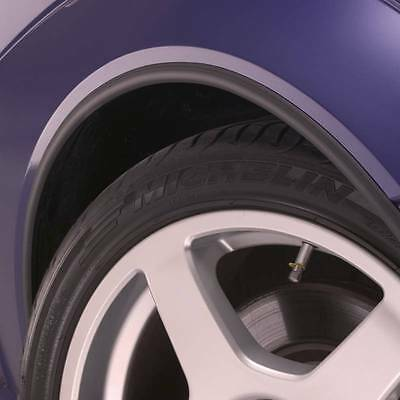 BLACK Wheel Arch Arches Guard Protector for VAUXHALL Opel