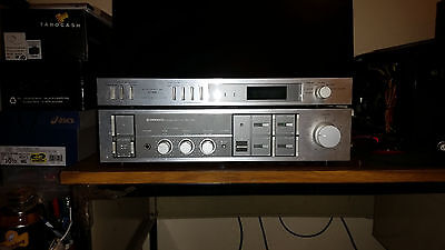 Vintage Pioneer Stereo Amplifier SA-750 and Timer