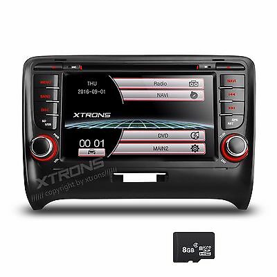 "XTRONS 7"" Autoradio für Audi TT Navigation GPS DVD Player MP3 USB CAN-bus Touch"