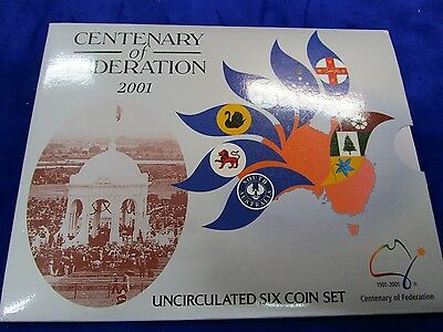2001 Australia Uncirculated Coin Set, Centenary of Federation