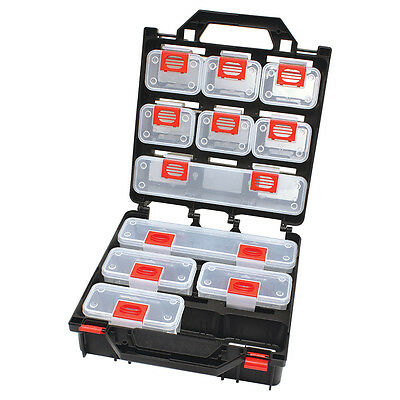 HRD STORAGE CASE 320x300x145mm Mountable, Removable, TRANSPARENT - 12 Or 15 Bin