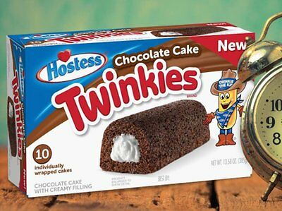 Hostess Twinkies Chocolate - American Import FULL BOX 10 cakes in total