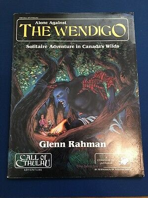 Alone Against The Wendigo - OOP - Call of Cthulhu RPG - Chaosium