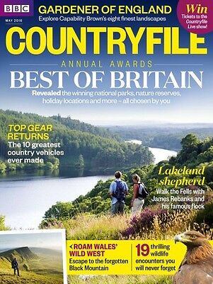 Bbc Countryfile Magazine May 2016 (Brand New Back Issue)