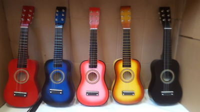 "21"" Childrens Kids Wooden Acoustic Guitar Musical Instrument Child Toy Xmas Gift"
