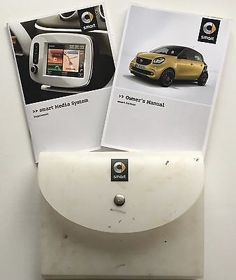 Smart Forfour Genuine Owners Manual Handbook With Wallet 2014-2016