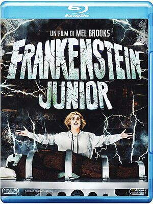 Frankenstein Junior-Blu-Ray- Regia Mel Brooks - Con Gene Wilder