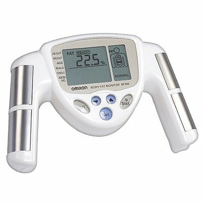 Omron BF306 BMI Hand Held Body Fat Composition Monitor *2 Year Warranty* New
