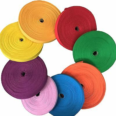 KRAFTZ® Herringbone Cotton Tape 12mm 25m Roll for Craft Bunting