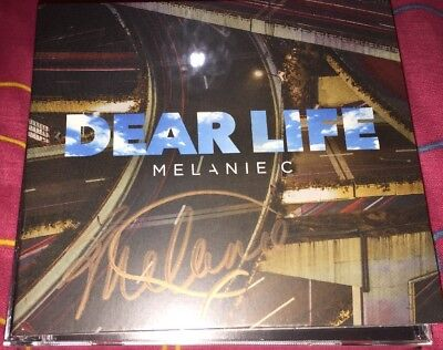 MELANIE C SIGNED DEAR LIFE CD SINGLE POP MUSIC /& PROOF SPICE GIRLS