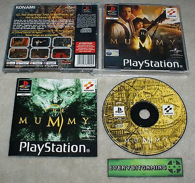 The Mummy - Playstation One Game PS1 PS2 PS3 - PAL complete