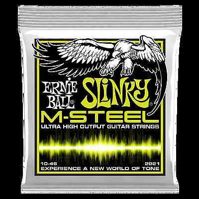 Ernie Ball Slinky M-Steel Guitar Strings 10-46 - 2921