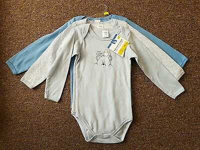 3x BOYS LONG SLEEVE VESTS / BODY SUITS. 2 YEARS. BNWT