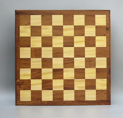 "Wooden Chess Set- Flat Chess Board - Handmade Inlaid Solid Wood-18""-25 Mm Thick"