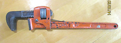 """Stilson / Monkey Pipe Wrench. 14"""" Drop Forged Plumbers Pipe workers"""