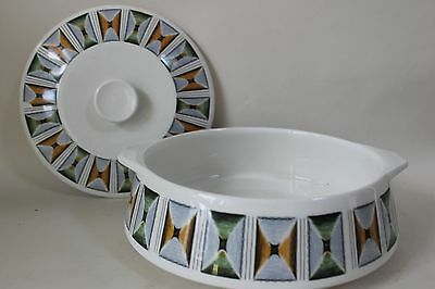 retro 'FUNKY OASIS' TUREEN 1960/70s Lord Nelson Pottery