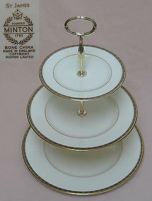 Minton St James THREE TIER CAKE STAND