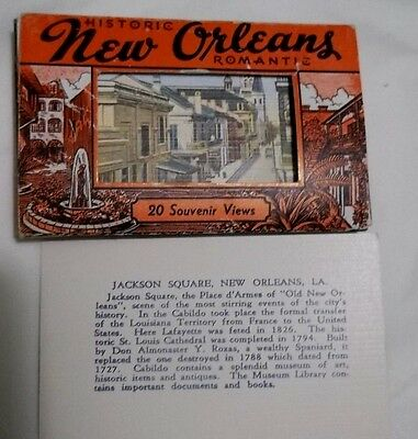 20 Historic Views New Orleans 1940s