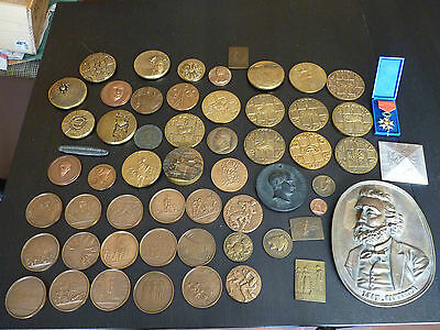 An enormous lot medals with rare and artistics medals