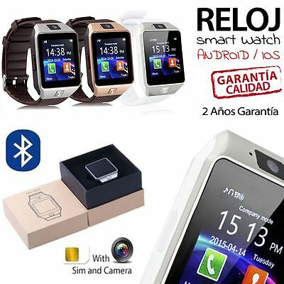 Bluetooth Smart Watch Reloj Inteligente Para iOS Android iPhone SAMSUNG Sony HTC