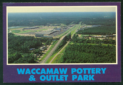 Aerial View of Waccamaw Pottery Outlet Park Myrtle Beach South Carolina Postcard