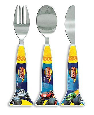 Childrens - Blaze and the Monster Machines Cutlery Set Dinner Set