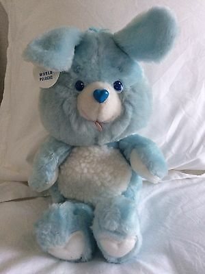 Vintage RARE Prototype Swiftheart Rabbit Plush Care Bear