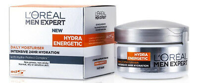 Loreal Men Expert New Hydra Energetic Daily Moisturiser Intensive 24HR Hydration