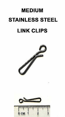 Medium Link Clips -  Sea Fishing Rig, Lead Weight