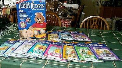 Original Unopened Teddy Ruxpin Bear With Accessories...mint!